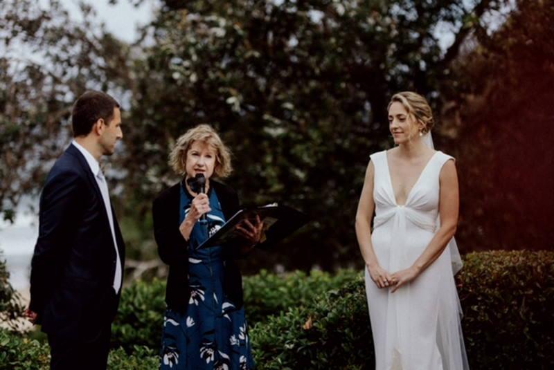 Tess & Giacomo serene weddings sydney